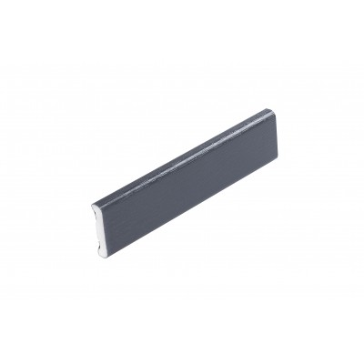 Anthracite Grey 25mm D Mould X 5m Length