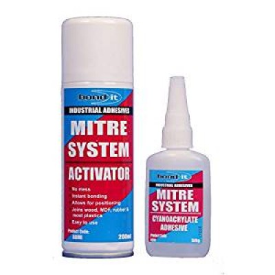Superglue Mitre Fast Bonding Kit