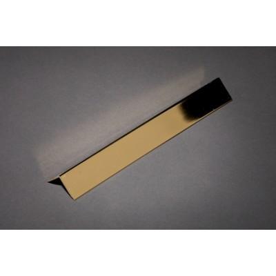 Internal Cladding Trims 2500mm Gold External Corner