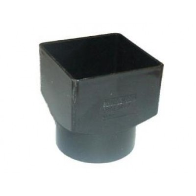Square To Round Downspout Converter Plastic Profiles