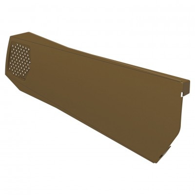 Brown Manthorpe Universal Ambidextrous Dry Verge Gable Apex Roof Tile Plastic End Cap