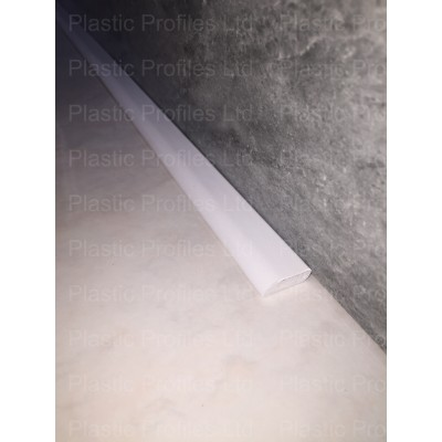 White 20mm Edge Fillet X 5m Length