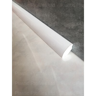 White 17.5mm Quadrant Trim X 5m Length