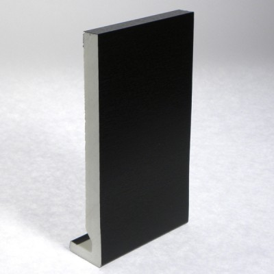 Black Ash Fascia 405mm Double Edge