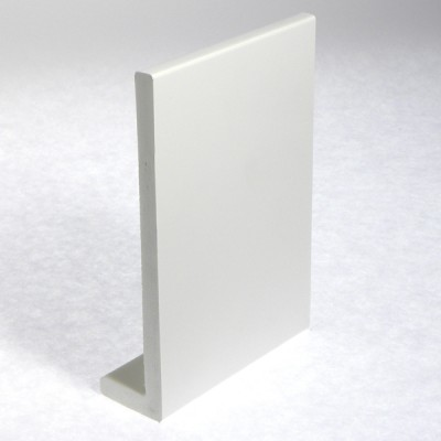White Capping Fascia 405mm Double Edge