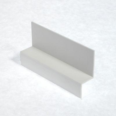 White Shiplap Cladding Drip Trim X 5m Length