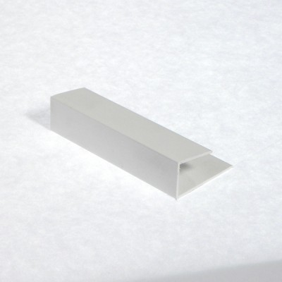 White Soffit Board Channel X 5m Length