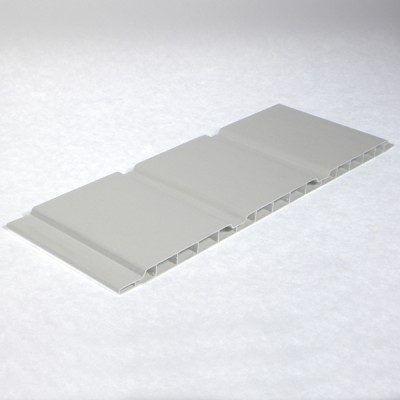 White 300mm Hollow Soffit Board Airboard X 5m Length