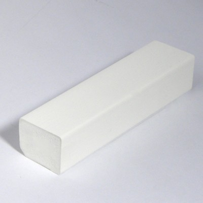 White 20mm X 22mm Rectangle X 5m Length