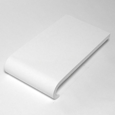 White  Bullnose Window Sill 300mm