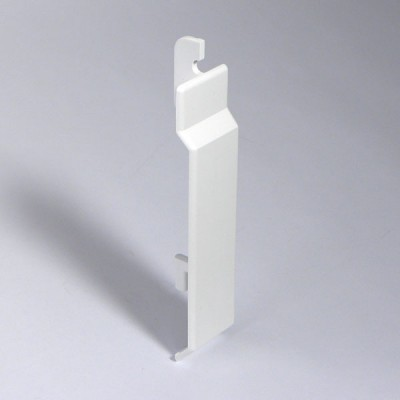 White Upvc Plastic 100mm Shiplap Cladding Joint Plastic