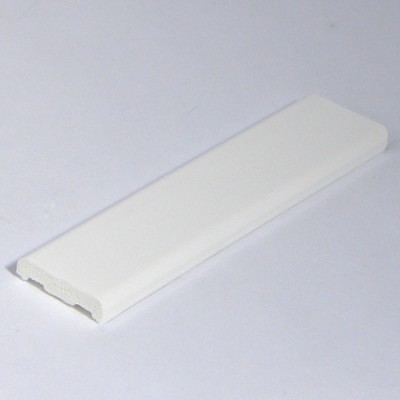 White 25mm D Mould X 5m Length