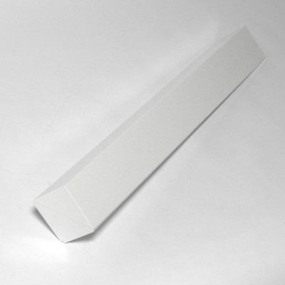 White 300mm Single Fascia Corner