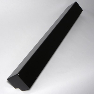 Black Ash 500mm Double Fascia Corner