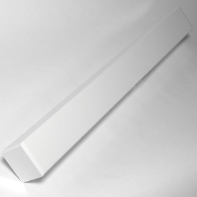 White 500mm Double Fascia Corner