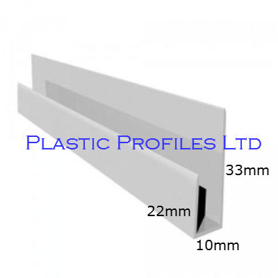 Black Ash Soffit Board Channel X 5m Length