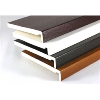 225mm Square Edge Fascia Board Various Colours