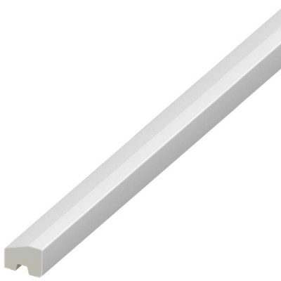 White Splayed Square Trim X 5m Length