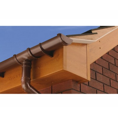 Light Oak Capping Fascia 405mm Double Edge