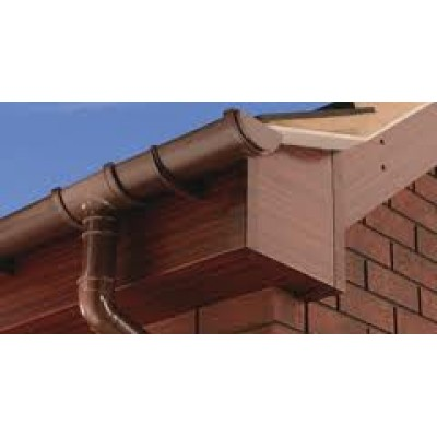 Rosewood Capping Fascia 405mm Double Edge