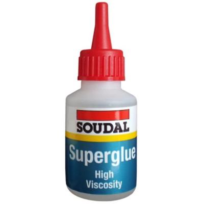 Soudal Superglue High Viscosity 20g